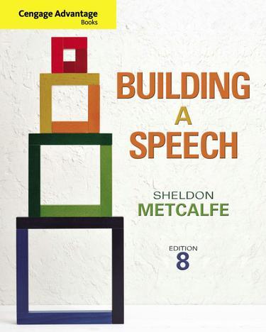 Cengage Advantage Books: Building a Speech