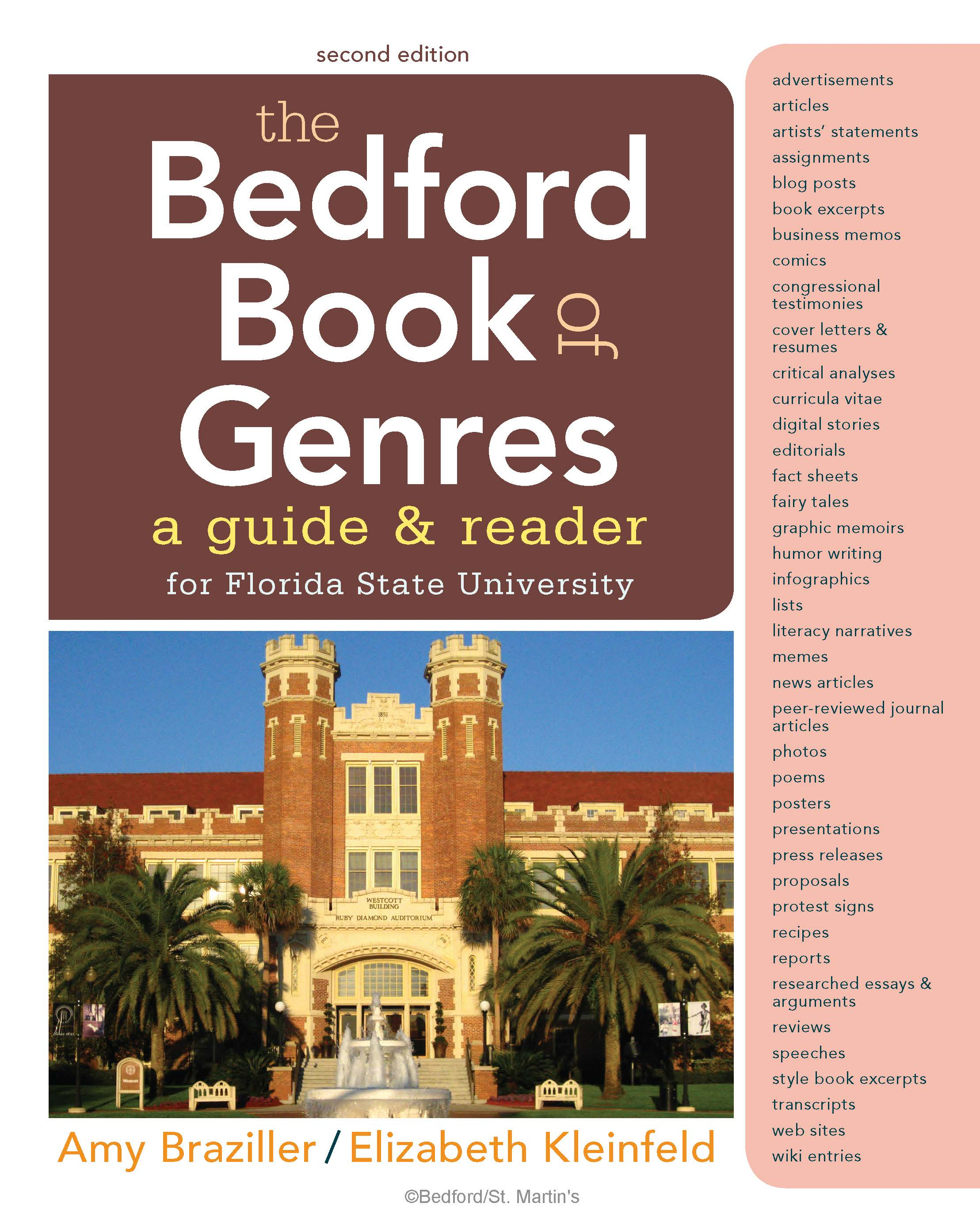 The Bedford Book Of Genres A Guide And Reader Redshelf