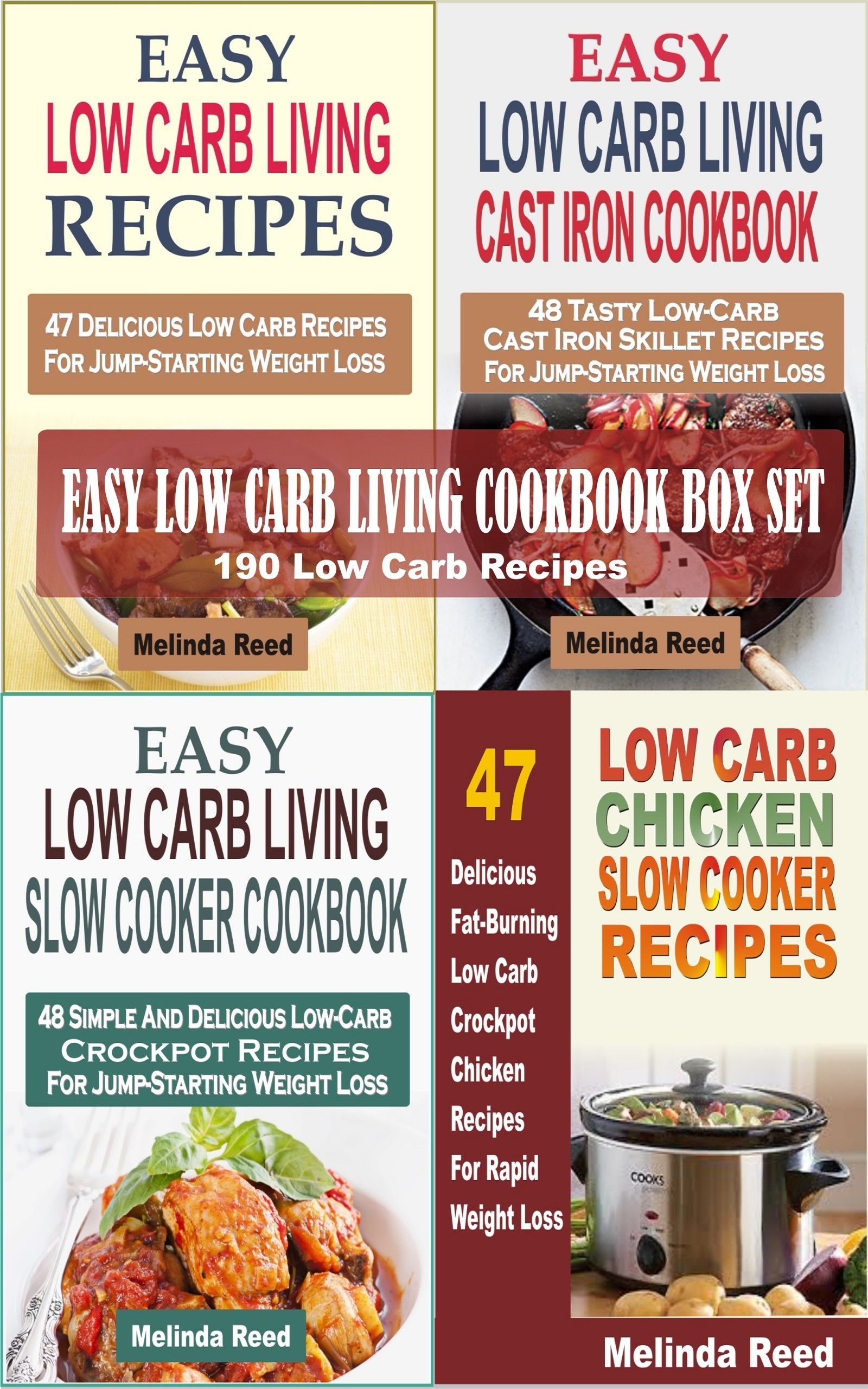 Easy Low Carb Living Cookbook Box Set