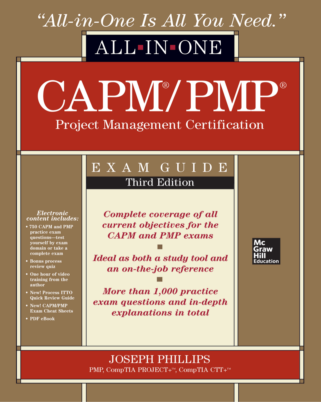 Eagle educational resources capmpmp project management certification all in one exam guide third edition fandeluxe Images