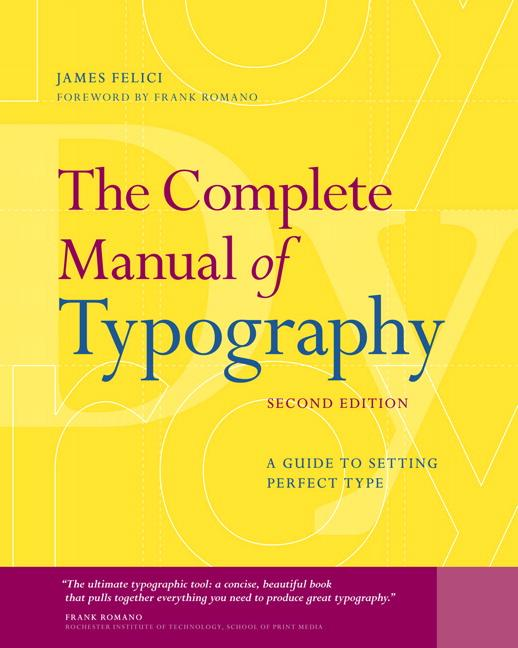 The Complete Manual of Typography