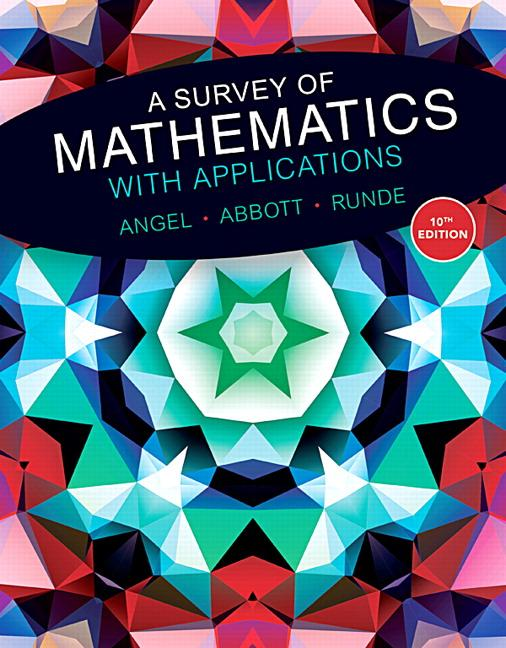 Survey of Mathematics with Applications, A