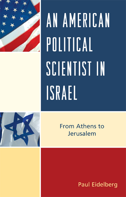 An American Political Scientist in Israel