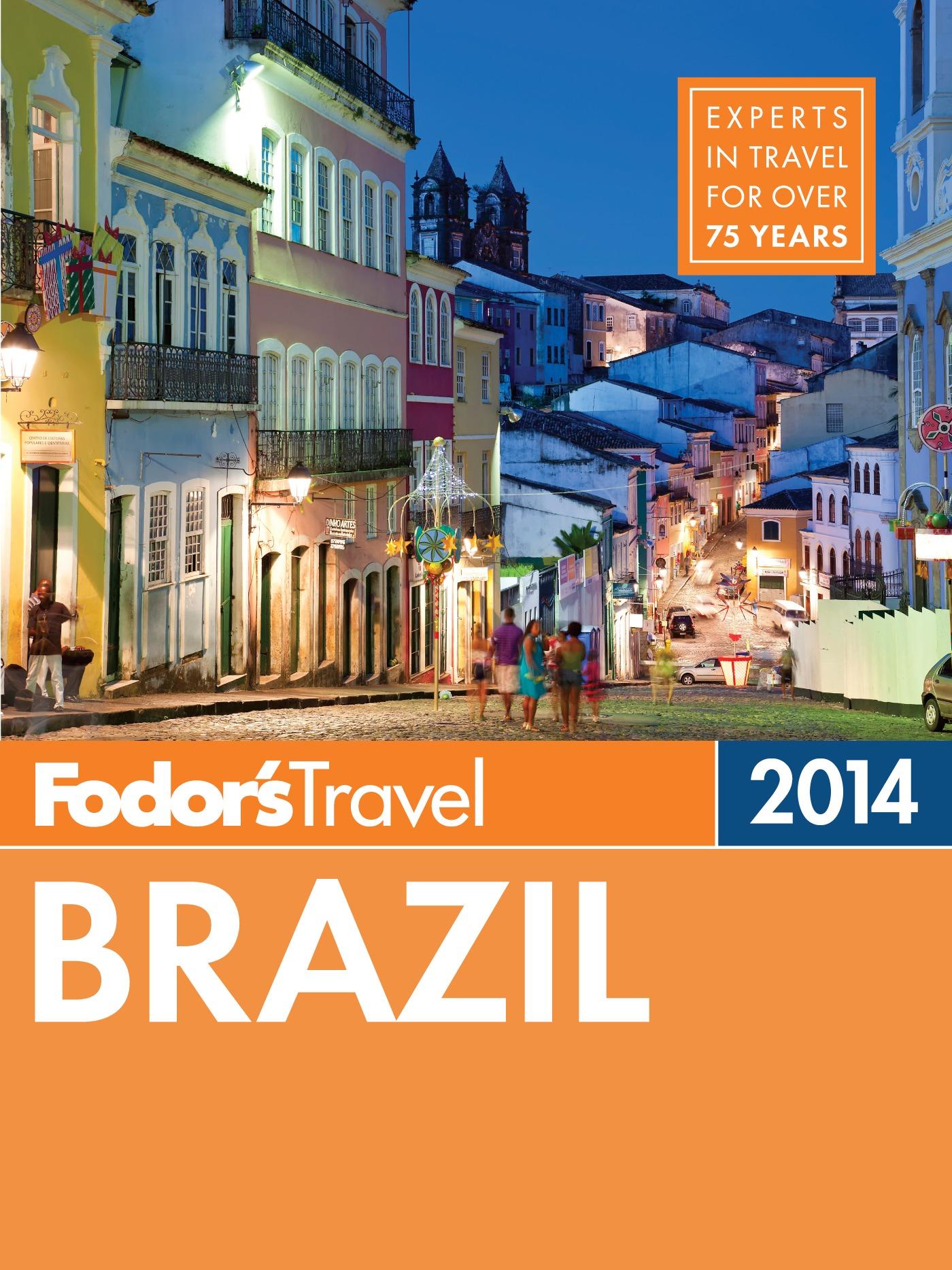 Fodor's Brazil 2014