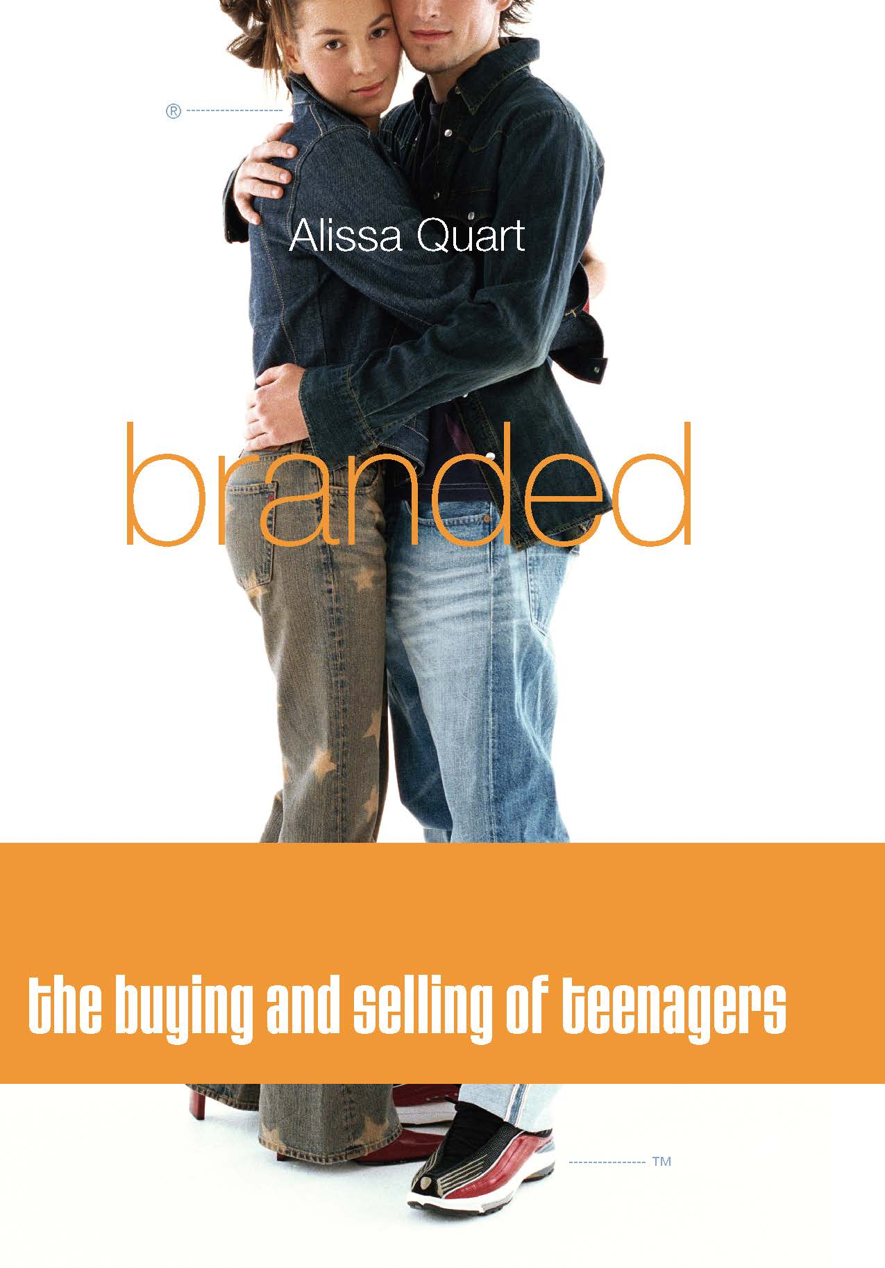 essays on melissa quarts branded Report abuse home reviews book reviews branded: the buying and selling of teenagers by alissa quart branded: the buying and selling of teenagers by.