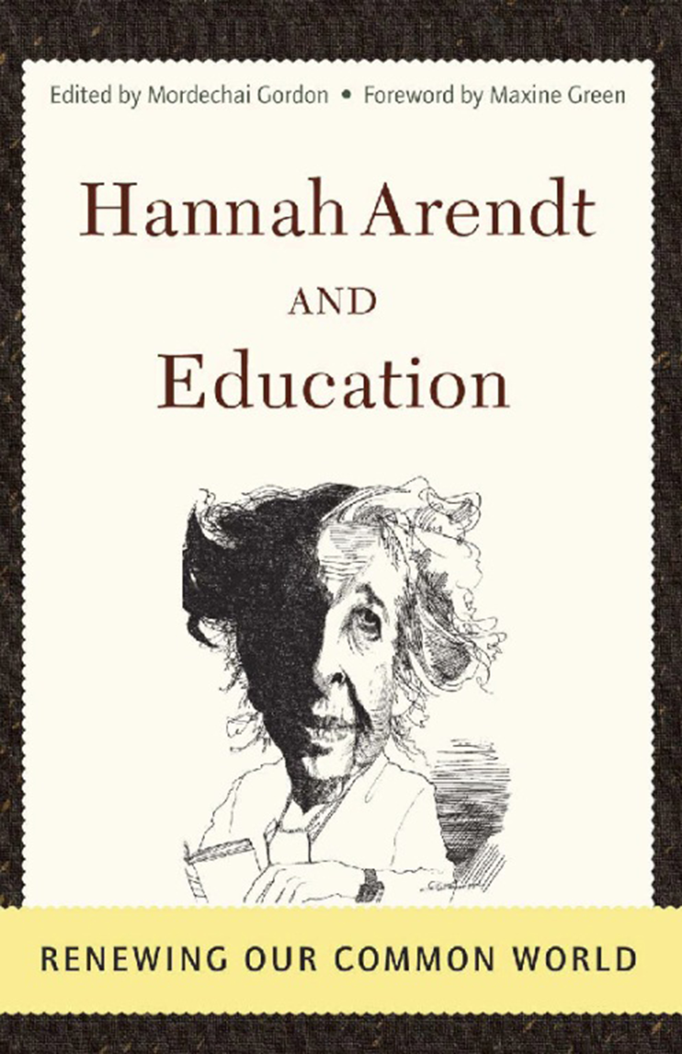 Hannah Arendt And Education