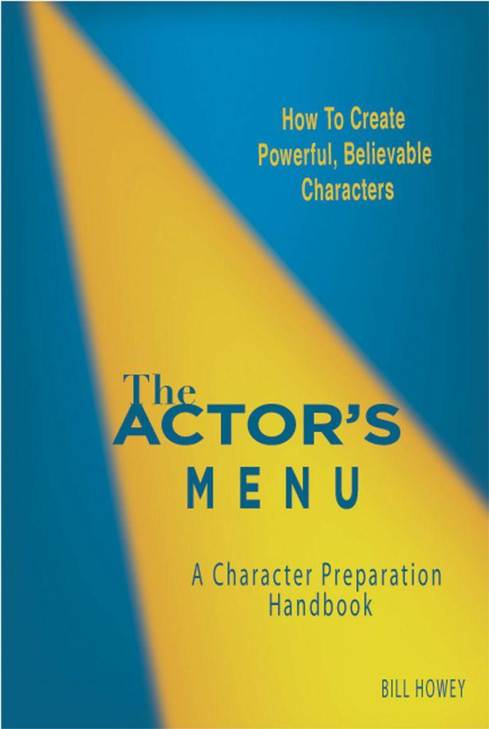 The Actor's Menu