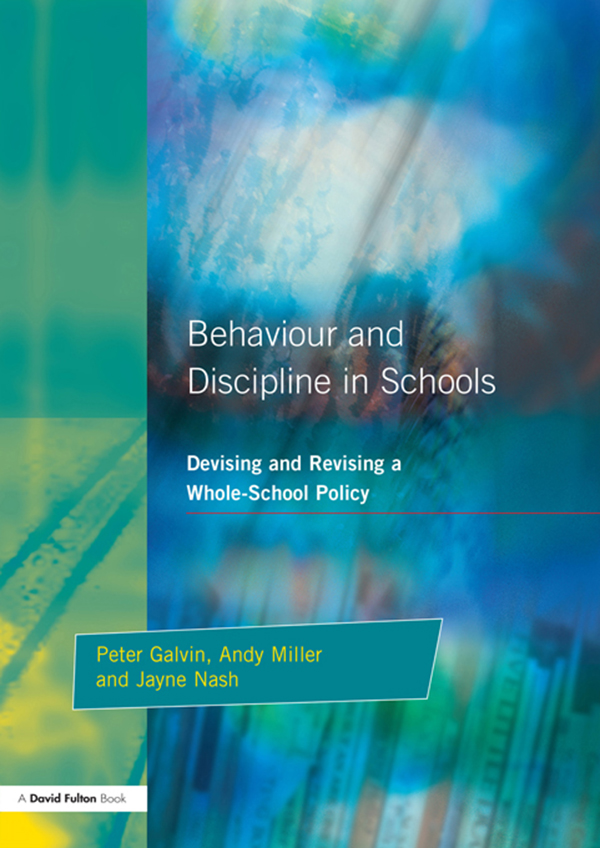 school policy behaviour