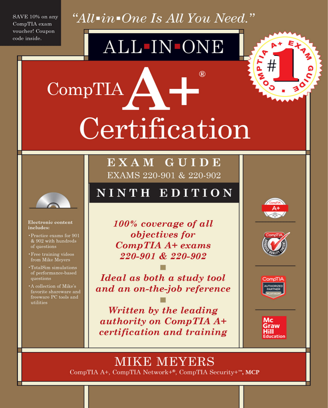 Portland community college bookstore comptia a certification all in one exam guide ninth edition exams 220 fandeluxe Image collections