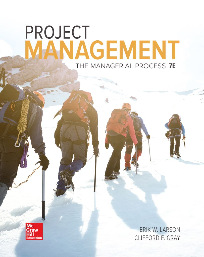 project management the managerial process View solution manual for project management the managerial process 6th edition larson, graydoc from dsfs sdf at uc davis solution manual for project management the managerial process 6th edition.