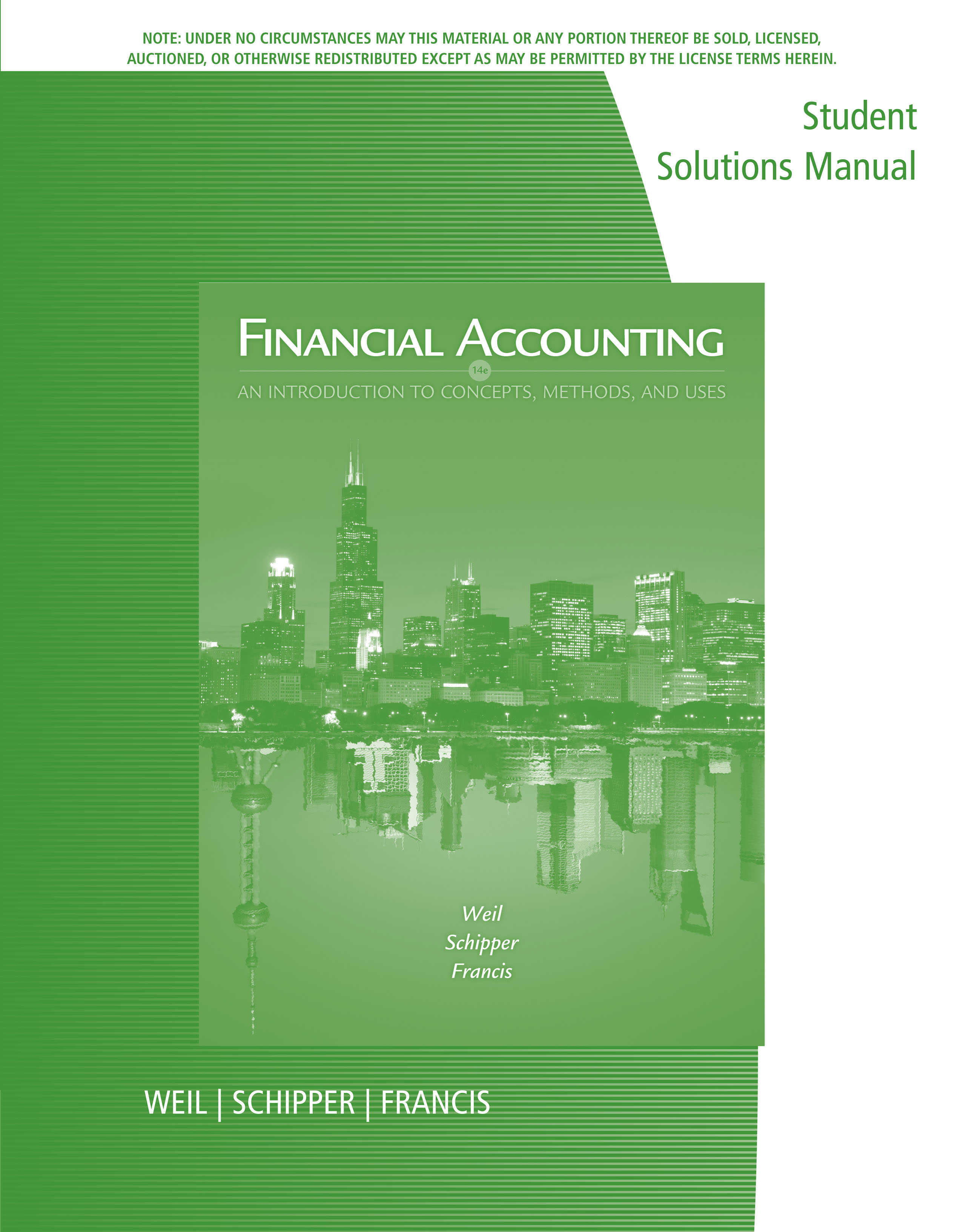 ISBN 9781305216082 product image for Student Solutions Manual for Weil/ Schipper/Francis' Financial ...