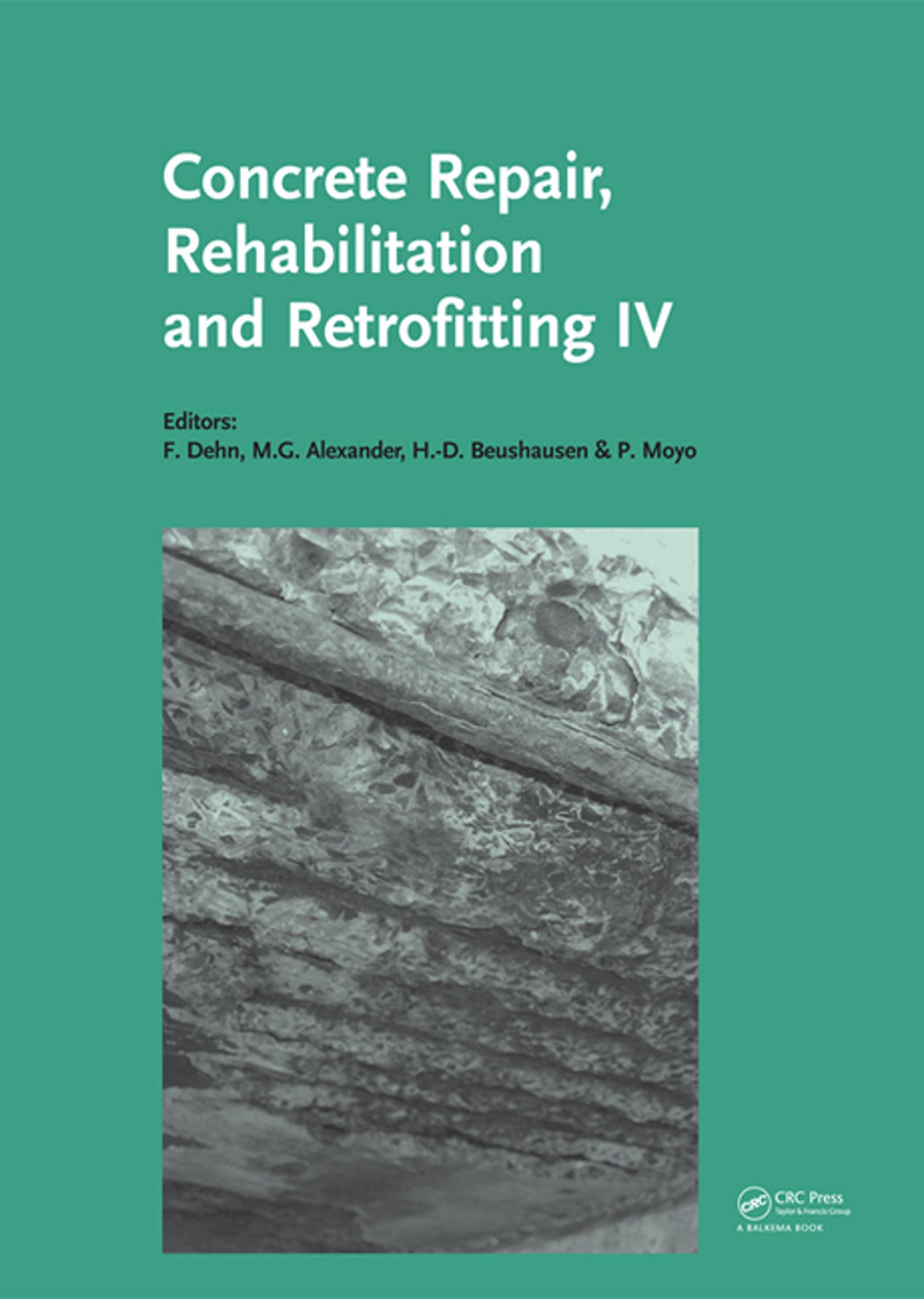 Concrete Repair, Rehabilitation and Retrofitting IV