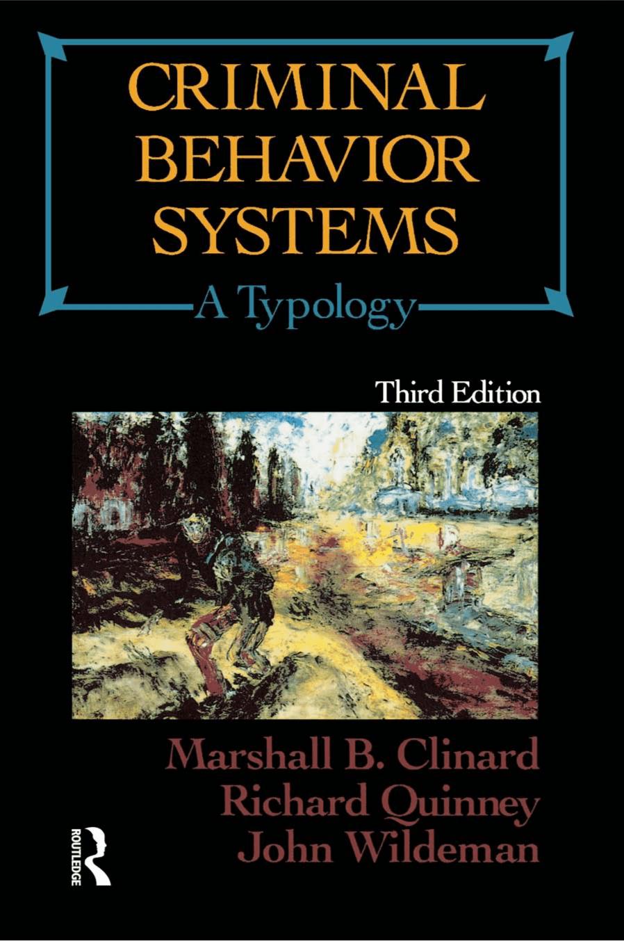 criminal behavior system