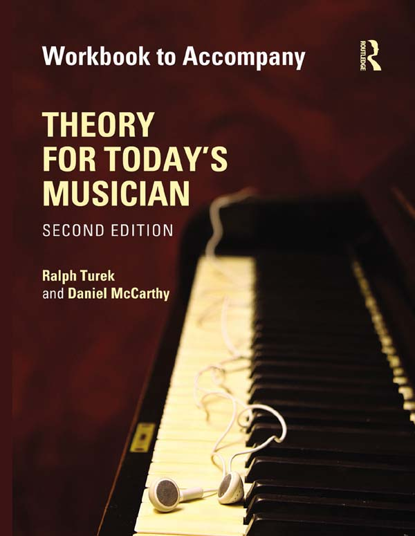 Theory for Today's Musician Workbook, Second Edition (eBook)