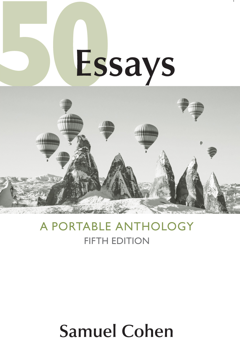 50 essay a portable anthology Document read online 50 essays a portable anthology samuel cohen 50 essays a portable anthology samuel cohen - in this site is not the similar as a answer calendar you buy.