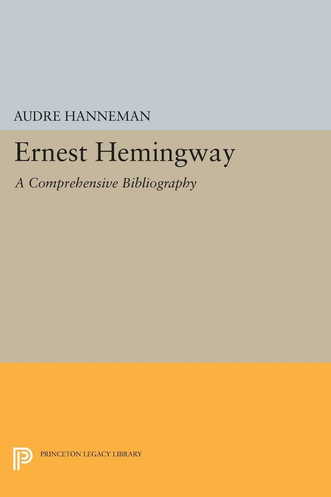 annotated bibliography ernest hemingway