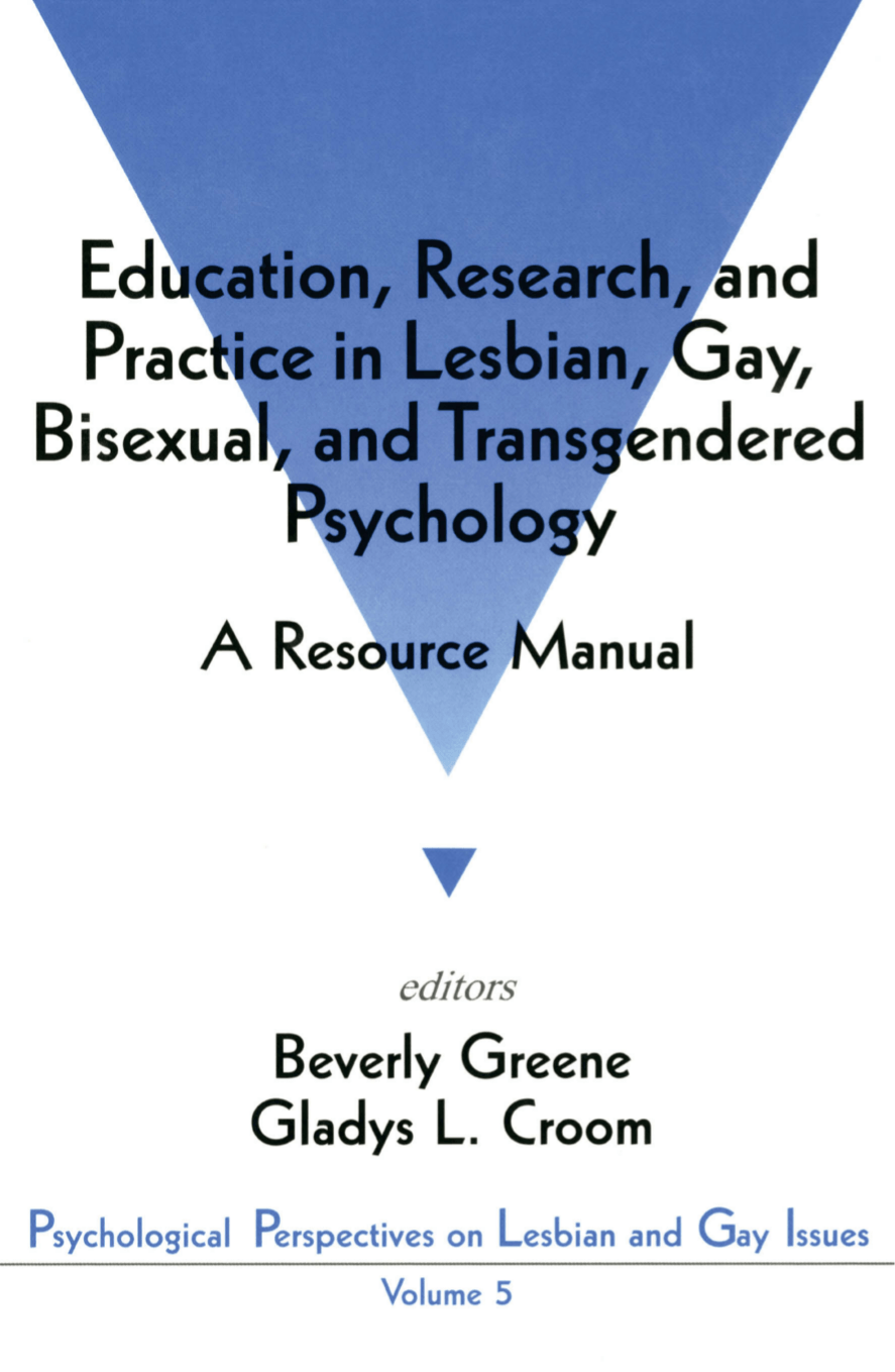 an examination of the factors why agencies should address lesbian gay bisexual and transgender in th Standing with lgbt prisoners: where he led nclr's policy and advocacy work on behalf of lesbian, gay, bisexual and transgender an empirical examination of.
