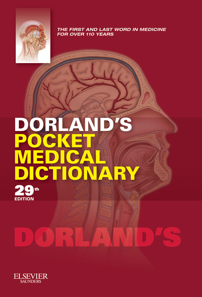Dorland's Pocket Medical Dictionary E-Book