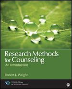 Research Methods for Counseling