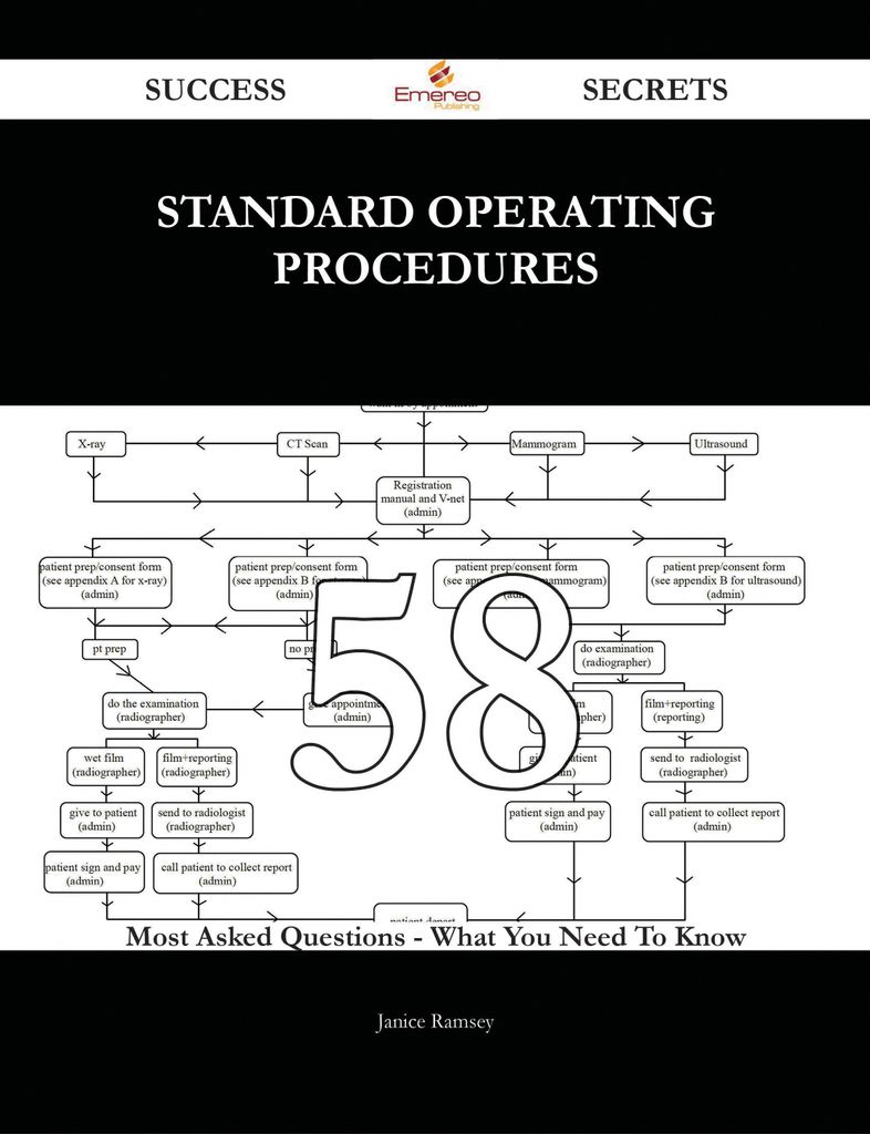 Standard Operating Procedures 58 Success Secrets - 58 Most Asked Questions On Standard Operating Procedures - What You Need To Know
