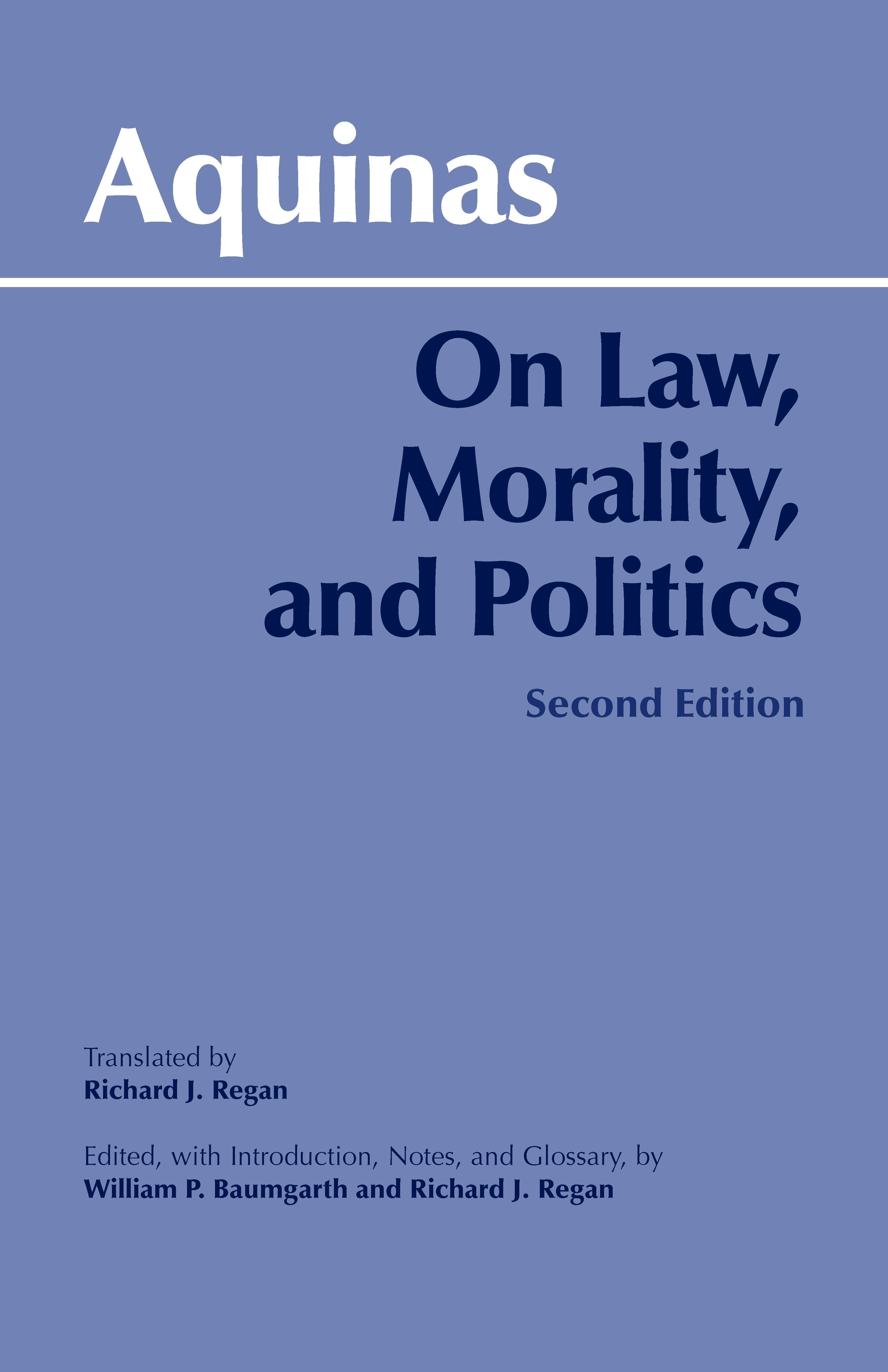thomas aquinas proposes four distinct types of laws Thomas aquinas (1225-1274) electio (choice): selects the means the intellect proposes as best question lxxxiii of the summa theologica, in four articles we.