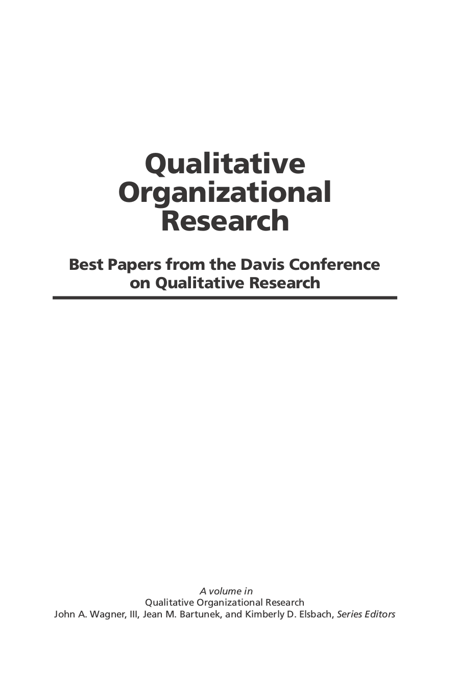 papers on qualitative research How to read a paper: how to read a paper: papers that go beyond numbers (qualitative research.