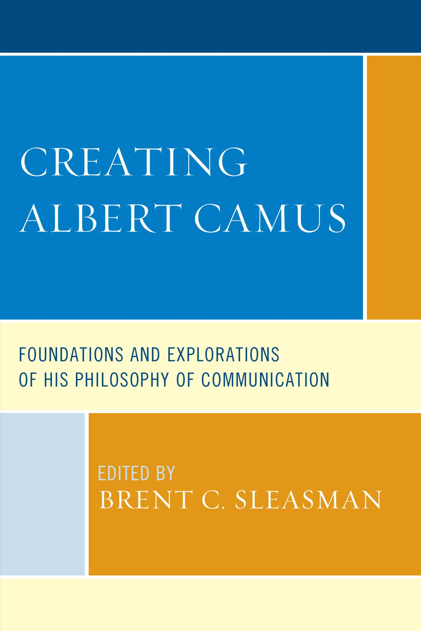 Creating Albert Camus
