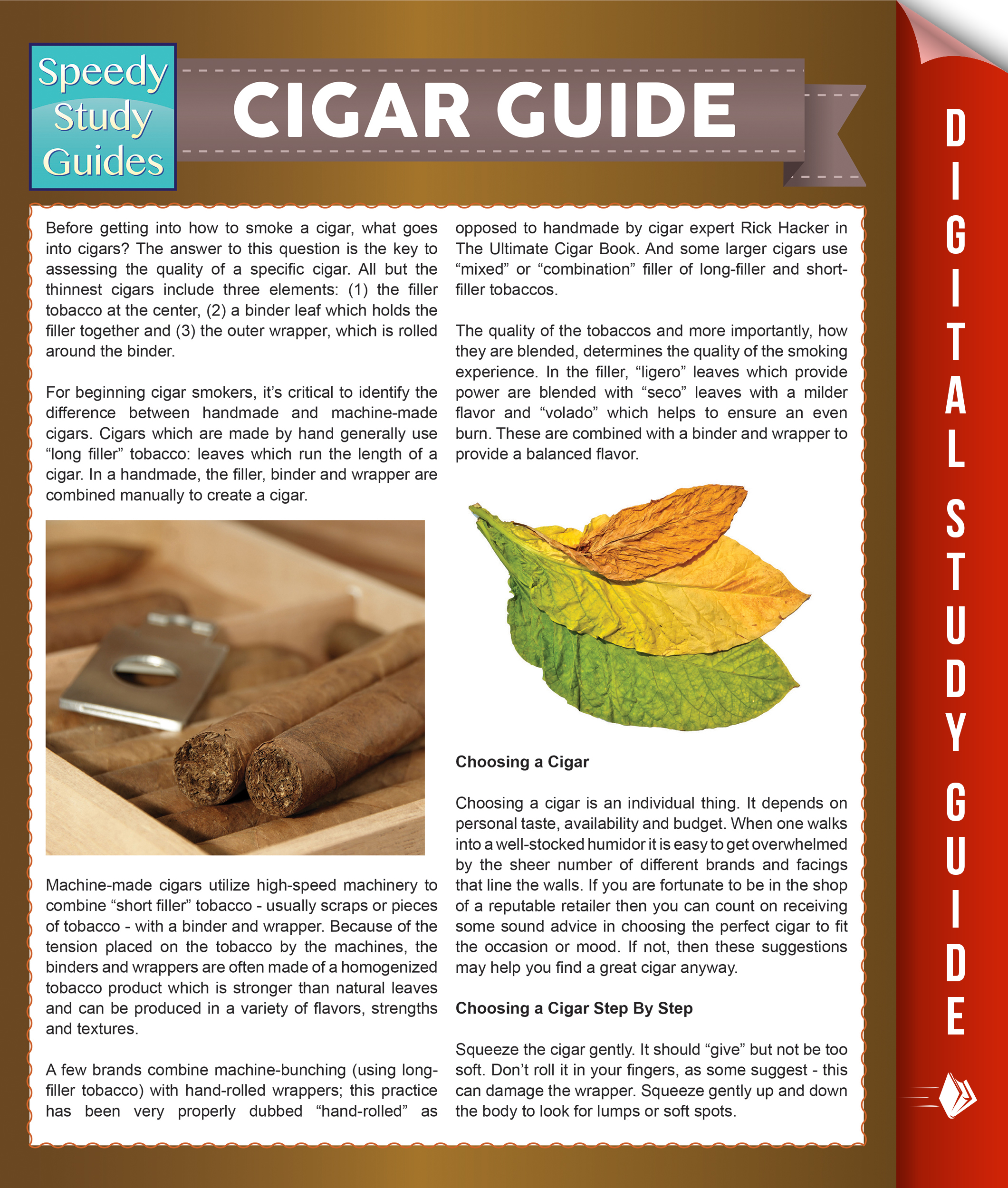 Cigar Guide (Speedy Study Guides)