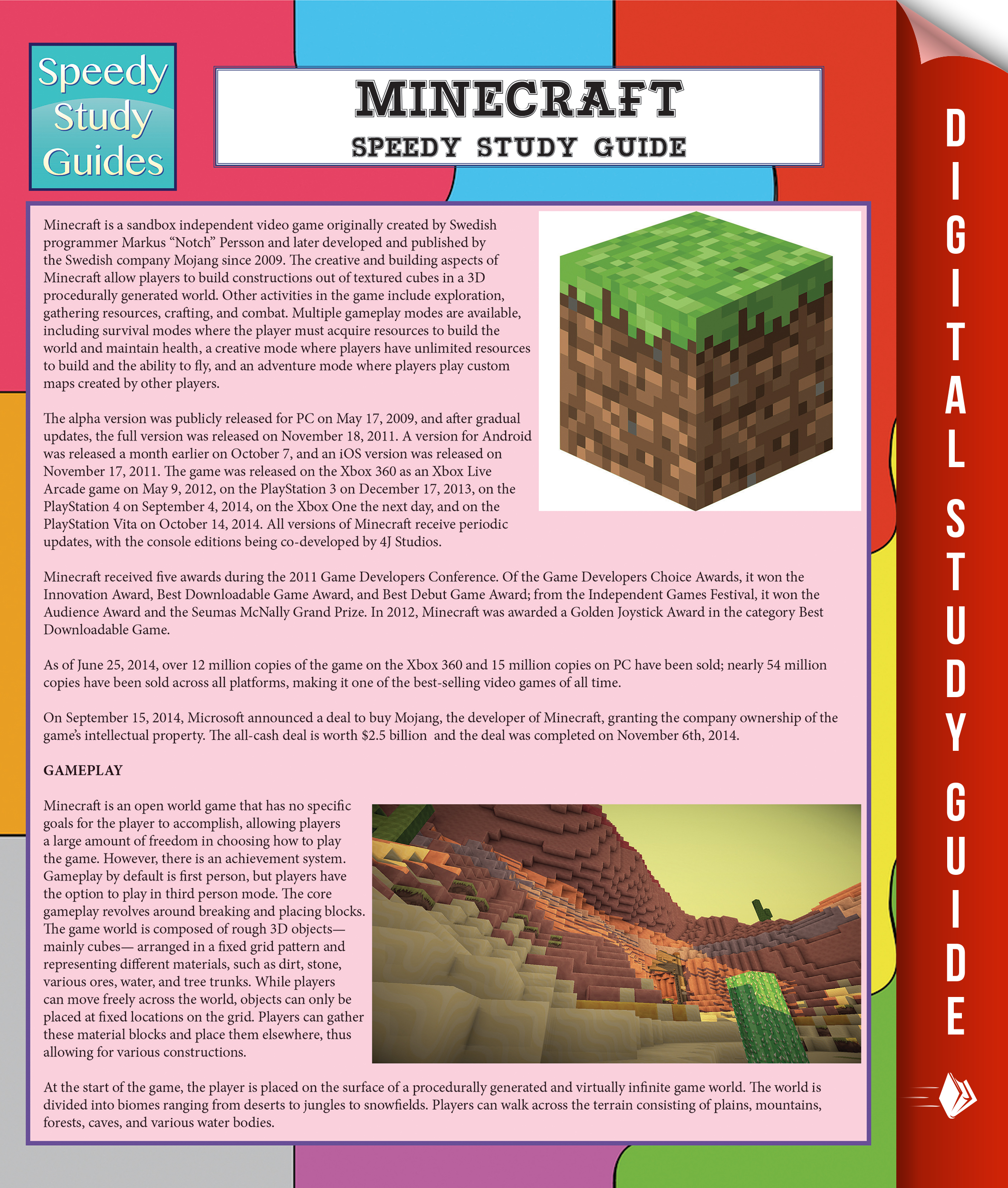 Minecraft Speedy Study Guide (Speedy Study Guide)