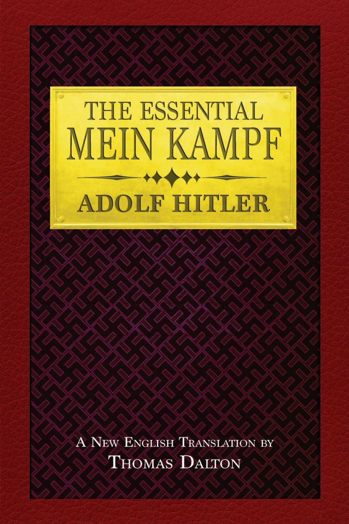 Cover image for The Essential Mein Kampf