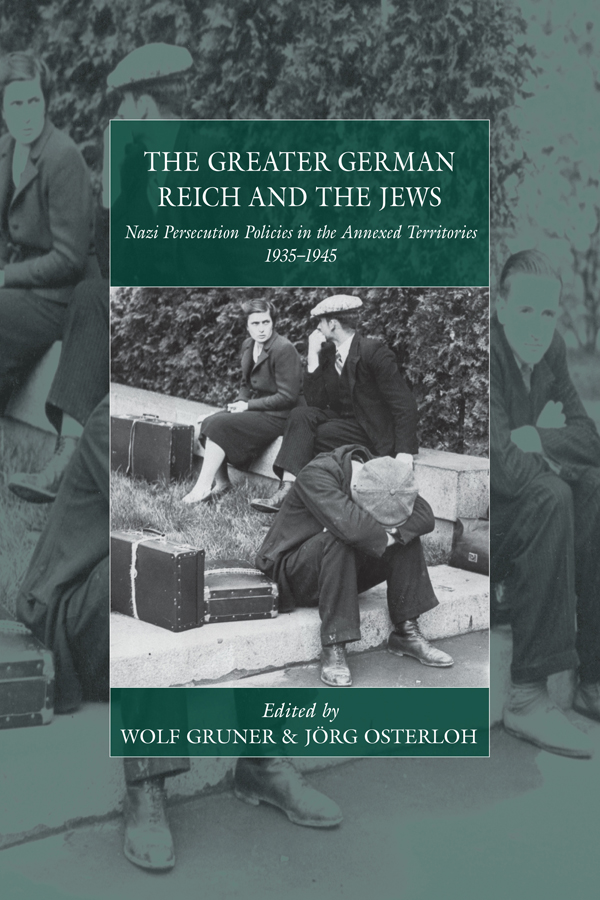 the genesis and history of the nazi cleansing of the jews in germany
