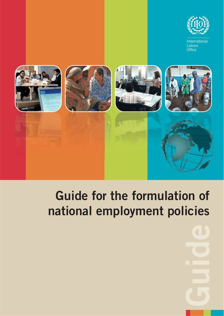 guidelines for the formulation of the