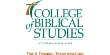 College of Biblical Studies Bookstore Logo