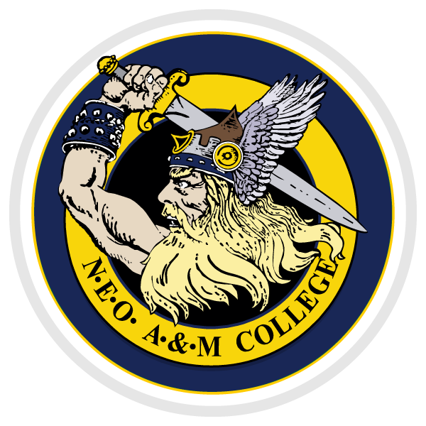 Northeastern Oklahoma A and M Bookstore Logo