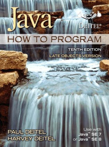 Java How To Program, Late Objects Version