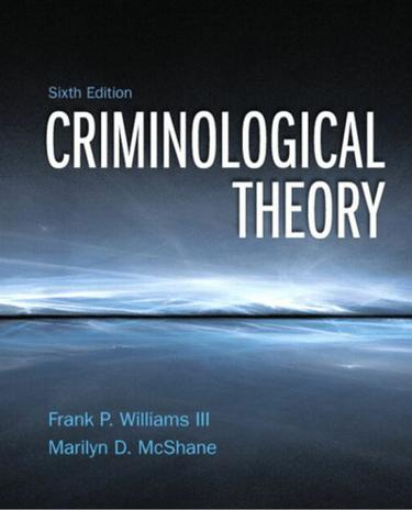Criminological Theory (Subscription)