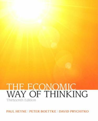 Economic Way of Thinking, The