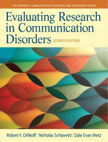 Evaluating Research in Communication Disorders