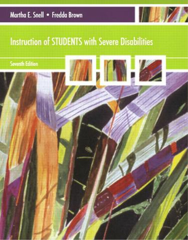 Instruction of Students with Severe Disabilities (Subscription)
