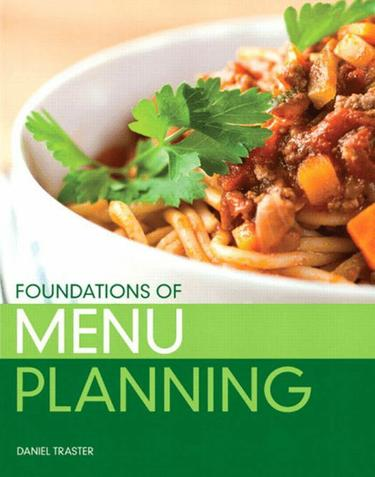 Foundations of Menu Planning