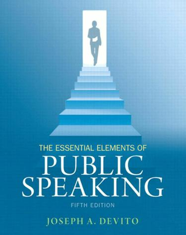 Essential Elements of Public Speaking, The