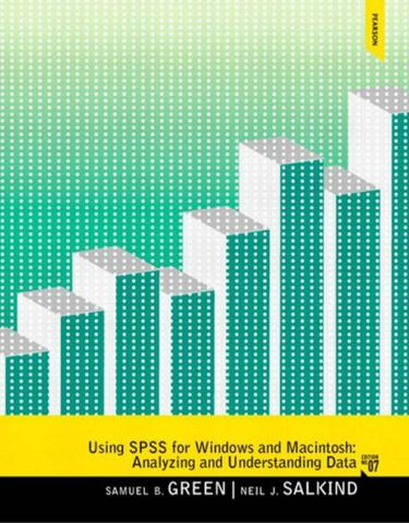 Using SPSS for Windows and Mac Analyzing and Understanding Data