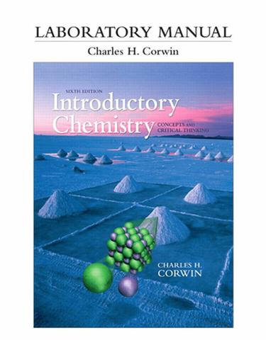 Laboratory Manual for Introductory Chemistry