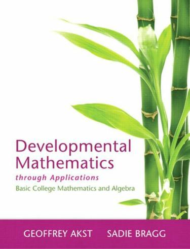 Developmental Mathematics therough Applications