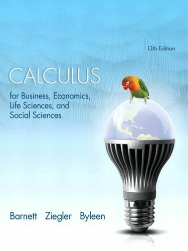Calculus for Business, Economics, Life Sciences, and Social Sciences