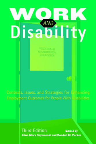 Work and Disability, 3e - 13869