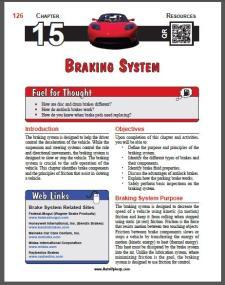 Auto Upkeep - (Chapter 15 - Braking System - Textbook and Workbook) 3rd Edition