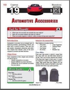Auto Upkeep - (Chapter 19 - Automotive Accessories - Textbook and Workbook) 3rd Edition
