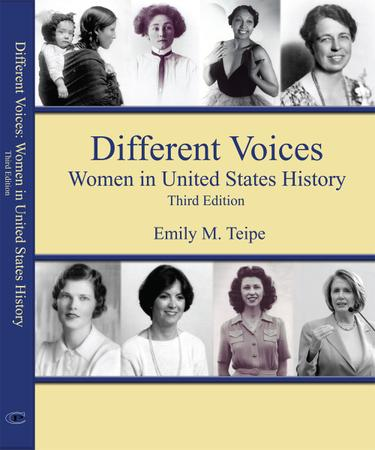 Different Voices, Women in United States History Third Edition