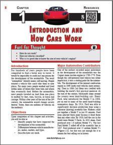 Auto Upkeep - (Chapter 1 - Introduction and How Cars Work - Textbook and Workbook) 3rd Edition